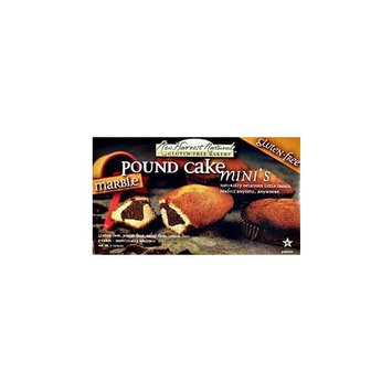 New Harvest Naturals Harvest Naturals Pound Cake Minis Classic Raisin - Case of 6 Packages
