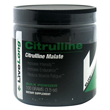 LiveLong Nutrition - Citrulline Malate Bulk Powder - 3.5 oz.