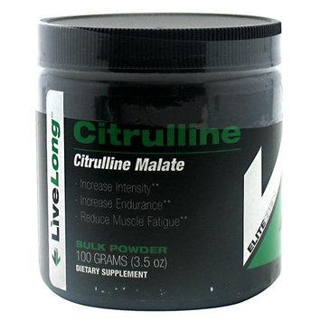 LiveLong Nutrition - Citrulline Malate Bulk Powder - 3.5 oz.