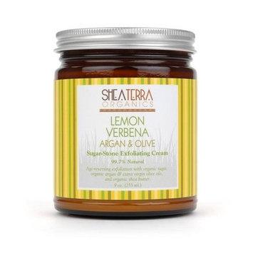 Shea Terra Organics Shea Terra Lemon Verbena Argan & Olive Exfoliating Cream 9 oz.