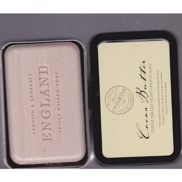 Somerset Cocoa Butter Triple Milled Moisturising Soap Bar 10.5 Oz. In Gift Tin - Imported From England, Made in Portugal.