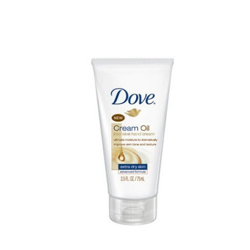 Dove Cream Oil Intensive Hand Cream, Extra Dry Skin Advanced Formula, 2.5 Ounce (Pack of 3)