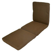 Smith & Hawken Outdoor Chaise Lounge Cushion - Espresso