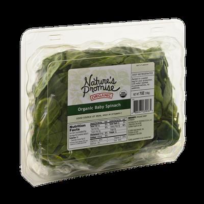 Nature's Promise Organics Organic Baby Spinach