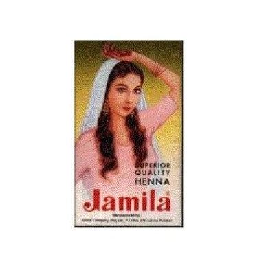 Jamila  Henna Powder,  3.52-Ounce Box  (Pack of 6)