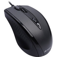 Azio A4TECH (D-770FX) Wired USB Pinpoint Optic Engine Mouse, Black