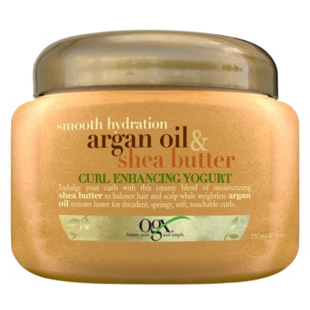 OGX® Smooth Hydration Argan Oil & Shea Butter Curl Enhancing Yogurt
