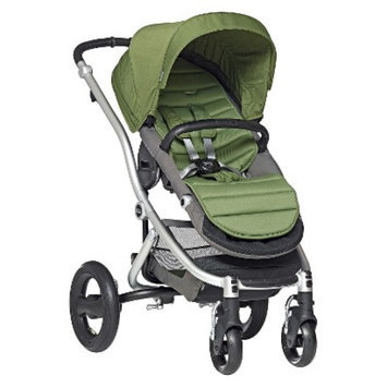 Britax Affinity Silver Stroller with Cactus Green Color Pack