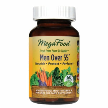 MegaFood Men Over 55 Whole Food Multivitamin, Tablets, 60 ea