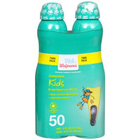 Walgreens Kids Continuous Spray Sunscreen, SPF 50