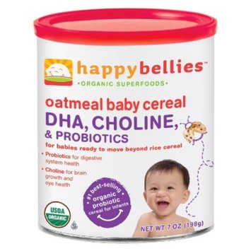 Happy Baby Happy Bellies - Organic Oatmeal Cereal (6 Pack)