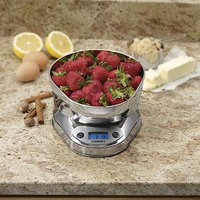 Cuisinart KML-KO3B PrecisionChef Bowl Digital Kitchen Scale