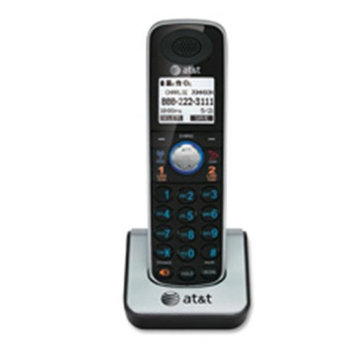 Advanced American Telephone ATTTL86009 Phone- Corded-Cordless- 2-Line- Expandable- Dect 6.0- BK-SR