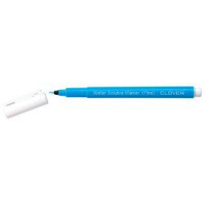 Clover Water Soluble Marker Fine Point-Blue