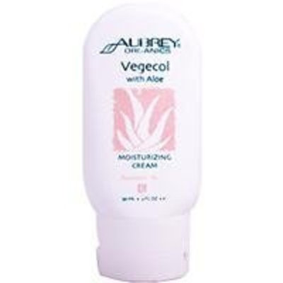 Aubrey Organics - Vegecol With Aloe Moisturizing Cream, 2 fl oz cream