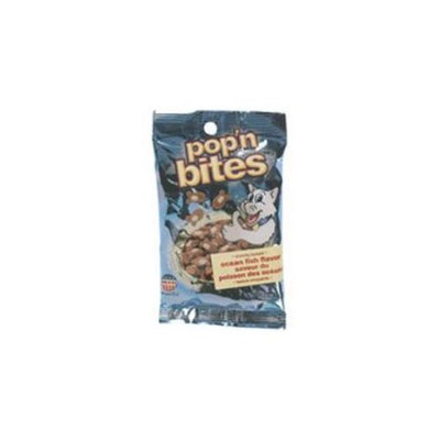 DDI PopN Bites Ocean Flavor Cat Treat Counter Display- Case of 24