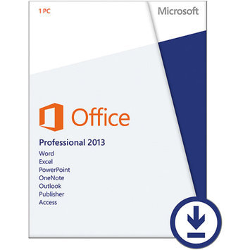 Microsoft Office Professional, 1 PC Download (Email Delivery)