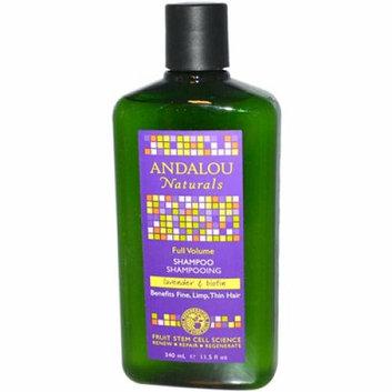 Andalou Naturals Full Volume Shampoo Lavender and Biotin 11.5 fl oz