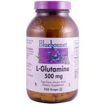 L-Glutamine 500mg Bluebonnet 250 VCaps