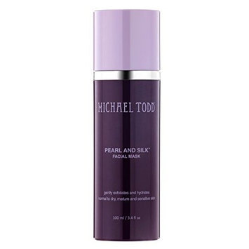 Michael Todd Pearl and Silk Facial Mask | 3.4 fl oz Airless Bottle