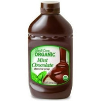 Santa Cruz Organics Santa Cruz Organic Mint Chocolate Syrup, 15.5 Ounce -- 12 per case.