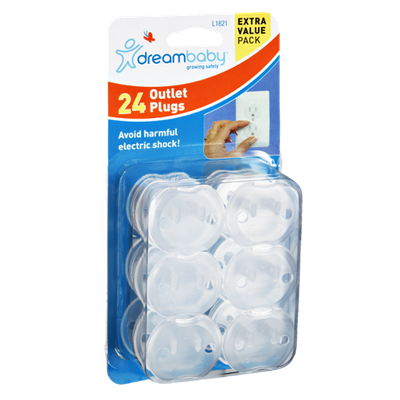Dreambaby Outlet Plugs- 24 CT