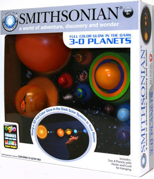 N.s.i. NSI Toys Smithsonian 3-D Glowing Solar System
