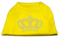 Ahi Rhinestone Crown Shirts Yellow XXL (18)