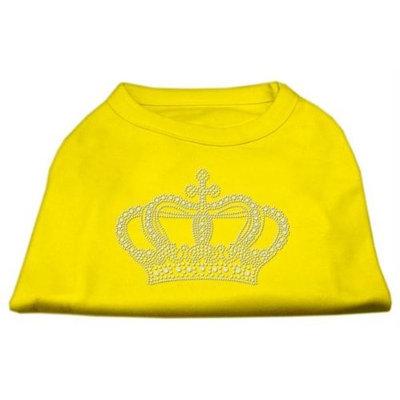 Ahi Rhinestone Crown Shirts Yellow XXL (18)