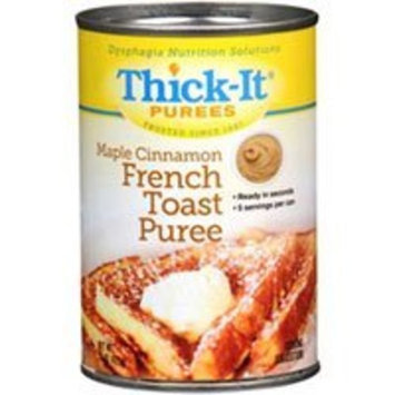 Thick-It Puree: Maple Cinnamon French Toast, Size:(1 case: 12 x 15 oz. cans)