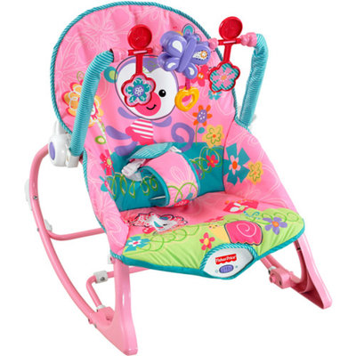 FISHER PRICE Fisher-Price Girls' Infant-to-Toddler Rocker