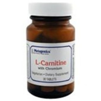 Metagenics L-Carnitine with Chromium 30 Tablets