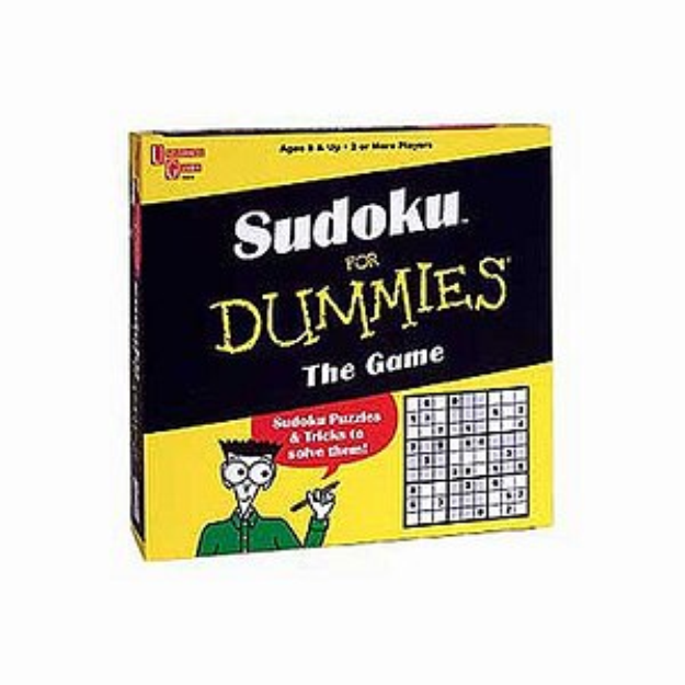 University Games Sudoku for Dummies Game Ages 8+, 1 ea