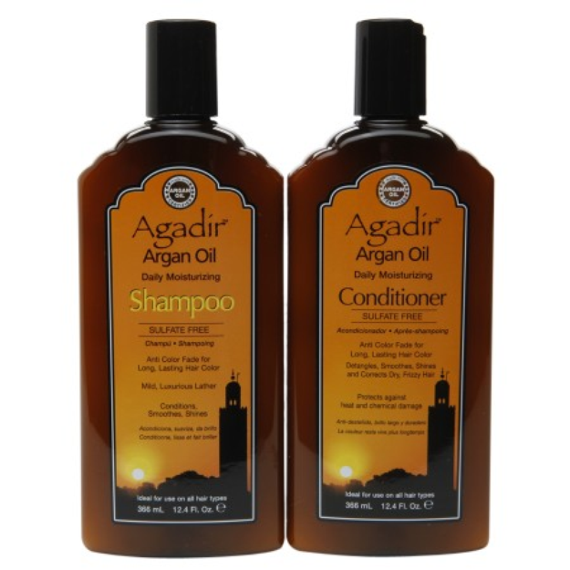 Agadir Argan Oil Daily Moisturizing Shampoo & Conditioner
