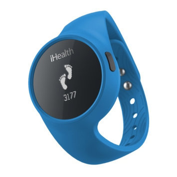 iHealth Lab Inc iHealth Wireless Activity and Sleep Tracker - Black/Blue (AM3)
