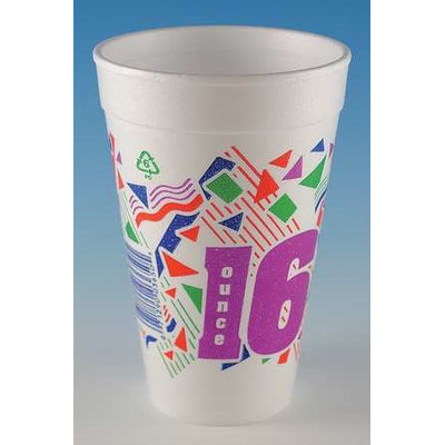 WINCUP C1618SIM ll Disp. Cold/Hot Cup,16 oz, White, PK500