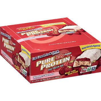 Pure Protein Strawberry Shortcake High Protein Bars