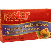 Polar   Polar Fancy Whole Smoked Mussels, 3 oz