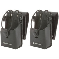 Motorola RLN6302 (2-Pack) Leather Case With 3