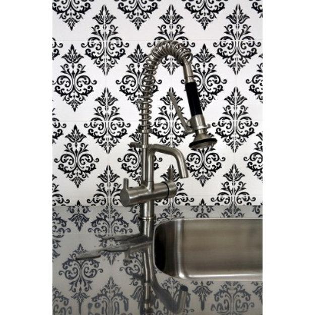 Graham & Brown Pallade Wallpaper - Black/White