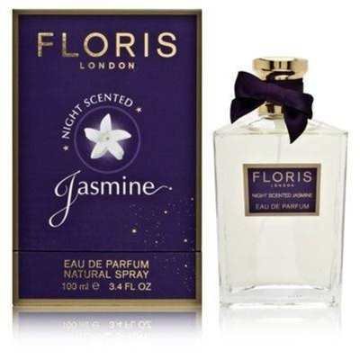 Floris Night Scented Jasmine by Floris London for Women 3.4 oz Eau de Parfum Natural Spray
