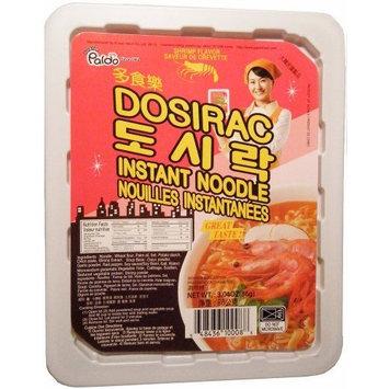 Paldo Dosirac Oriental Style Noodle, Shrimp Flavor, 3.04-Ounce (Pack of 8)