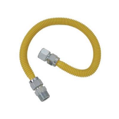 Cobra Plumbing CSSC21-48P Plumb Shop Brasscraft 48-in Stainless Steel Gas Range Connector