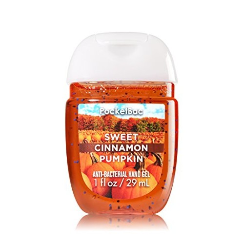 Bath & Body Works® PocketBac SWEET CINNAMON PUMPKIN Anti-Bacterial Hand Gel