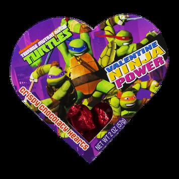 Nickelodeon Valentine Ninja Power Crispy Chocolaty Hearts