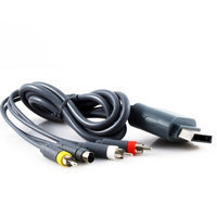 KMD (KOMODO) Bulk AV S Video Cable for XBOX 360