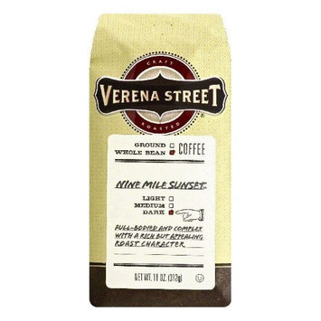 Verena Street 11 oz. Nine Mile Sunset Dark Whole Bean Coffee Case Of 6