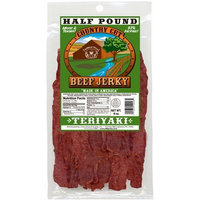 Buffalo Bills Premium Snacks Buffalo Bills 8oz Teriyaki Country Cut Beef Jerky Pack