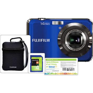 Fujifilm AX250 14MP Digital Camera Bundle, 5x Optical Zoom, 2.7