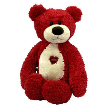 First & Main Tender Teddy Plush Toy - Red
